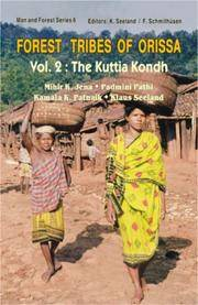 image of Forest Tribes of Orissa (Vol. II: The Kuttia Kondh)