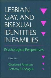 Lesbian, Gay, and Bisexual Identities in Families: Psychological Perspectives