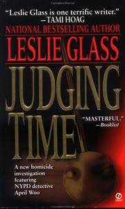 Judging Time (April Woo Suspense Novels) by Glass, Leslie - 1999
