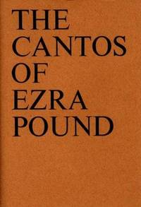 The Cantos of Ezra Pound (New Directions Books).