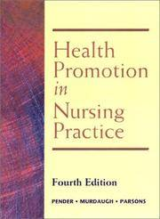image of Health Promotion in Nursing Practice