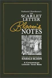 image of Nathaniel Hawthorne's the Scarlet Letter: Bloom's Notes (Contemporary Literary Views)