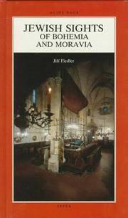 Jewish Sights of Bohemia and Moravia