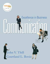 image of Excellence in Business Communication (8th Edition)