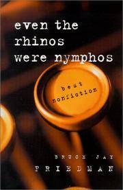 Even the Rhinos Were Nymphos