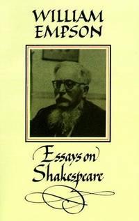 William Empson: Essays on Shakespeare.