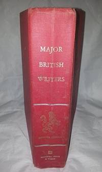 image of Major British Writers: Shorter Edition