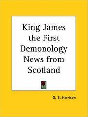 image of King James the First Demonology News from Scotland