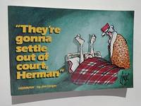 They'Re Gonna Settle Out Of Court, Herman