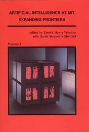 Artifical Intelligence at MIT, Expanding Frontiers, 2 Volumes. by  Sarah Alexandra editors  Patrick Henry & Shellard - 1990 - from Abracadabra Books 30% Off Sale! and Biblio.com