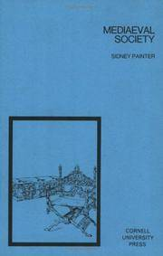 Mediaeval Society by  Sidney Painter - Paperback - 1975 - from Everybody's Bookstore and Biblio.com