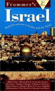 Frommer's Israel '98 Ullian, Robert