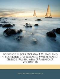 Poems Of Places Oceana 1 V