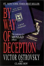 image of By Way of Deception: The Making of a Mossad officer