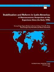 Stabilization And Reform in Latin America (IMF's Occasional Papers)