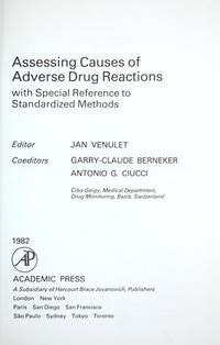 Assessing Causes of Adverse Drug Reactions