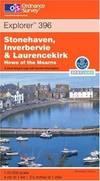 image of Stonehaven, Inverbervie and Laurencekirk (Explorer Maps)