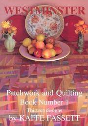 image of Westminster Patchwork and Quilting Book Number 1: Thirteen Designs