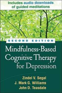 image of Mindfulness-Based Cognitive Therapy for Depression, Second E