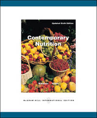 Contemporary Nutrition by Gordon M. Wardlaw - Paperback - 2006-03-01 - from Books Express and Biblio.co.uk
