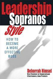 Leadership Sopranos Style