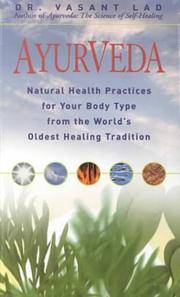 image of Ayurveda: Natural Health Practices for Your Body Type, from the World's Oldest Healing Tradition with Others