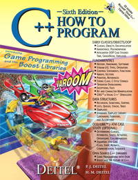 C++ How to Program (6th Edition)