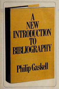 image of A new introduction to bibliography