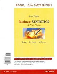 Business Statistics by Velleman, Norean D Sharpe