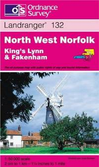 image of North West Norfolk (Landranger Maps)