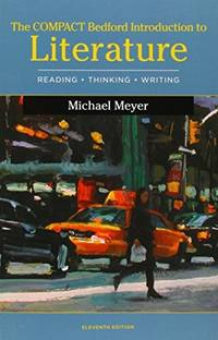 image of Compact Bedford Introduction to Literature: Reading, Thinking, and Writing_LaunchPad Solo for Literature (Six Month Access)