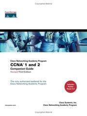 CCNA 1 and 2 Companion Guide, Revised (Cisco Networking Academy Program) (3rd Edition) by Cisco Systems Inc - Hardcover - from Georgia Book Company and Biblio.com