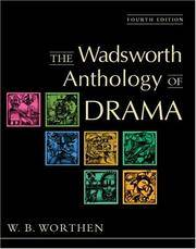 image of The Wadsworth Anthology of Drama