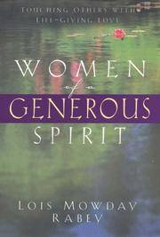 Women of a Generous Spirit