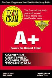 A+ Exam Cram: Pass the New A+ Certification Exam Expected to Go Live July 1998