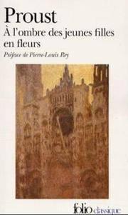 A L'Ombre des Jeunes Filles en Fleurs (Folio Series, No.1946) (French Edition) by  Pierre-Louis Rey (Illustrator) Marcel Proust - Paperback - GALLIMARD - 1988-12-01 - from Ergodebooks (SKU: DADAX2070380513)