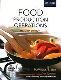 Food Production Operations (With CD) (English) 2nd Edition