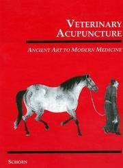 VBeterinary Acupuncture - Ancient Art to Modern Medicine by Allen M.Schoen (Editor) - Hardcover - 1994 - from Wadard Books PBFA (SKU: 19690sB9)