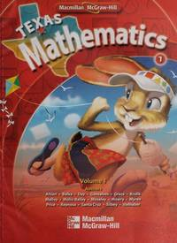 TEXAS MATHEMATICS 2 VOL.1 (P)