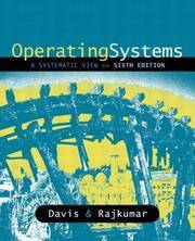 Operating Systems: A Systematic View (6th Edition)