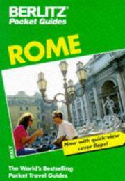 Rome (Berlitz Pocket Guides)