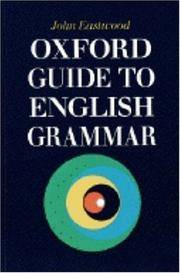 image of Oxford Guide to English Grammar