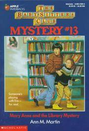 image of Mary Anne and the Library Mystery (Baby-Sitters Club Mysteries, No.13)
