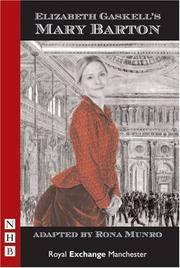 image of Mary Barton (Nhb Modern Plays)