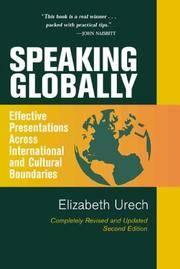 Speaking Globally