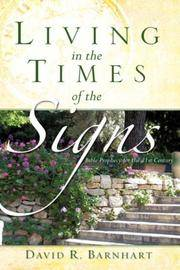 LIVING IN THE TIMES OF THE SIGNS [Paperback] Barnhart, David R by  David R Barnhart - Paperback - 2007-10-03 - from Ocean Books (SKU: VC-FOJ8-FB58)