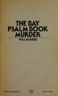The Bay Psalm Book Murder.