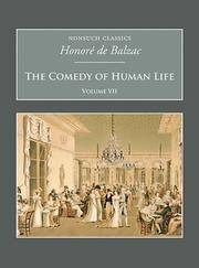 image of The Comedy of Human Life Volume VII (Nonsuch Classics)