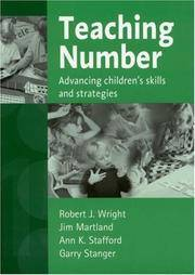 Teaching Number; Advancing Children's Skills and Strategies