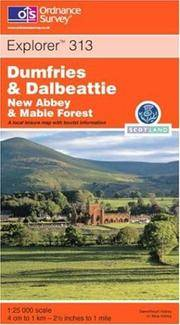 Dumfries and Dalbeattie (Explorer Maps) by Ordnance Survey - Paperback - 2000-10-25 - from Ergodebooks and Biblio.com